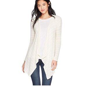 Volcom women's go open wrap sweater / cardigan
